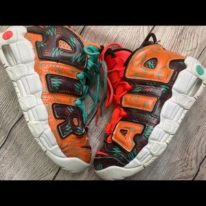Nike Air More Uptempo What The 90s 5.5 Gradeschool
